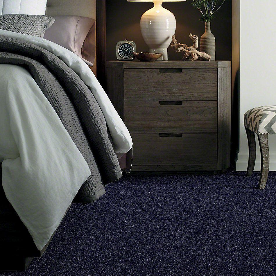 Shaw Floors Magic At Last II 12 Blue Ink 00444_E0201