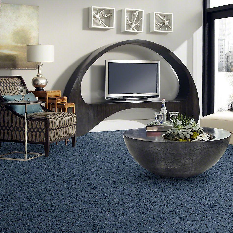 Anderson Tuftex Damask Cornflower Blue 00447_Z6793