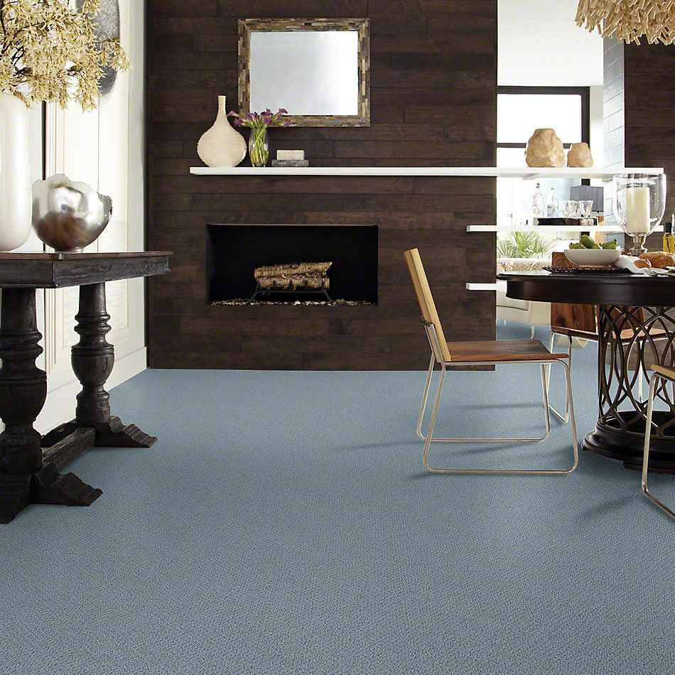 Shaw Floors Shaw Flooring Gallery Subtle Shimmer Loop Old Blue Eyes 00450_5568G