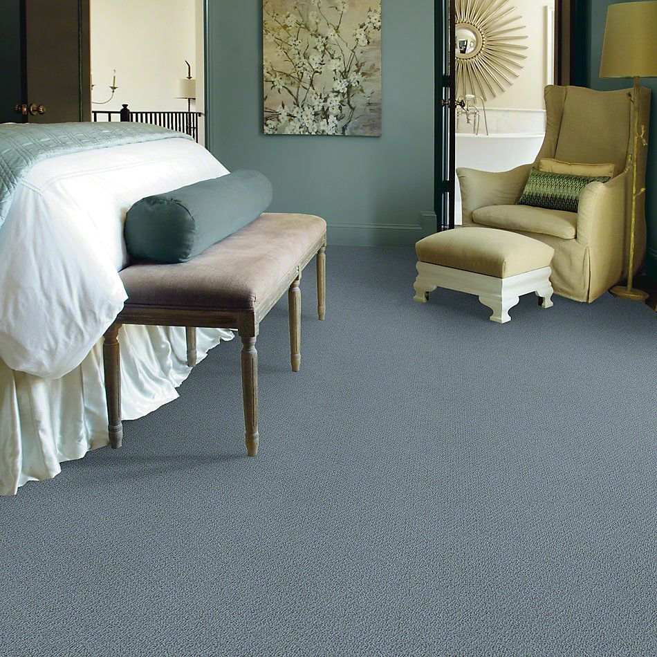 Shaw Floors Truly Relaxed Loop Old Blue Eyes 00450_E0657
