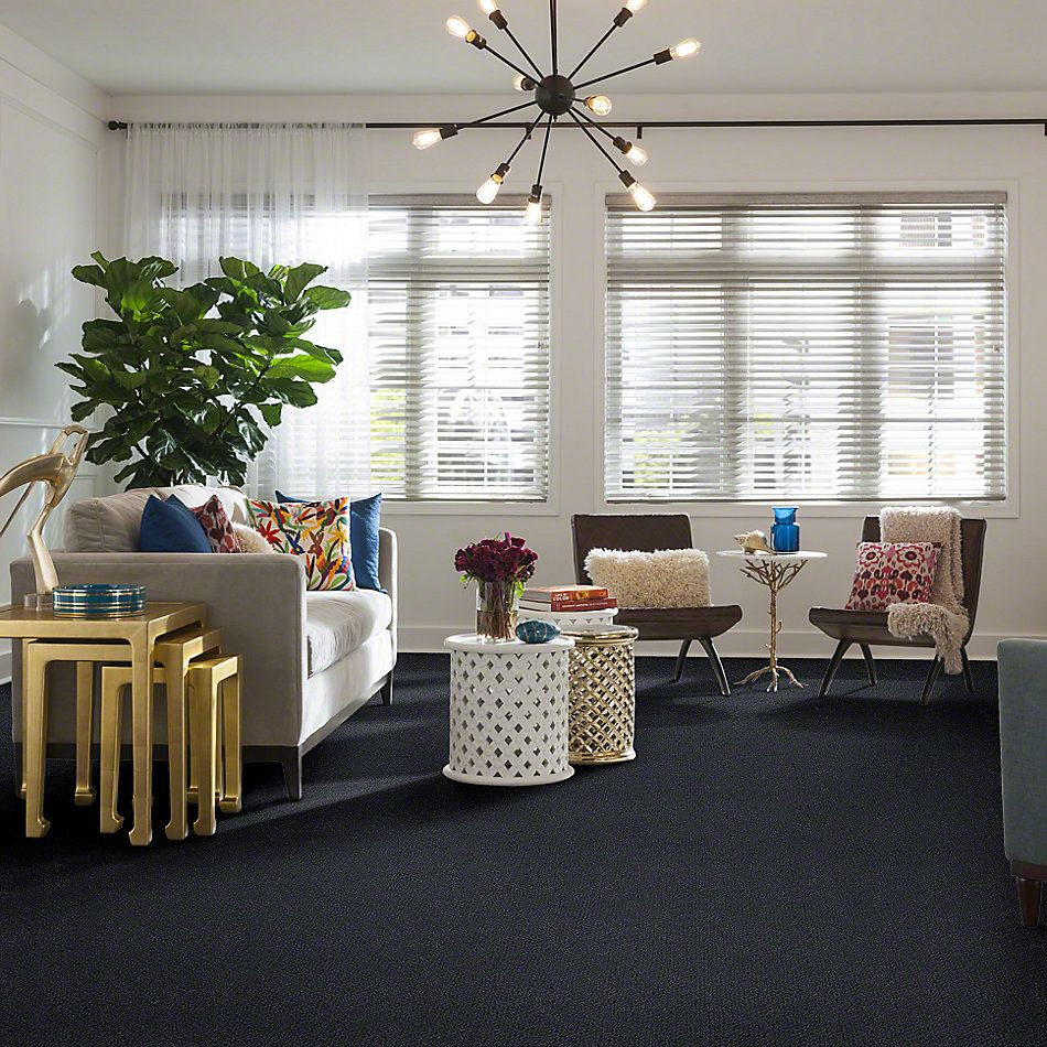 Shaw Floors Truly Relaxed Loop Indigo 00451_E0657