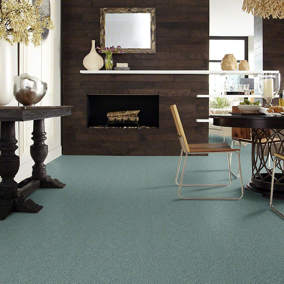 Shaw Floors SFA Artist View Loop Washed Turquoise 00453_EA566