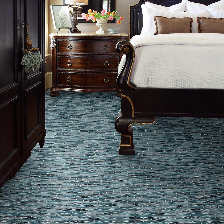 Shaw Floors Home Fn Gold Ceramic Molten Stretch Hexagon Glass Hydra 00460_TGJ84