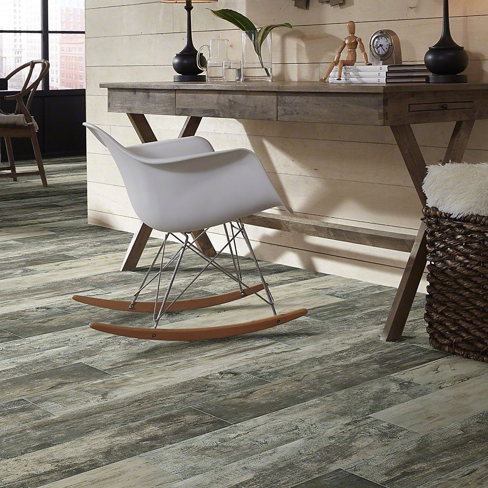 Shaw Floors Ceramic Solutions Timeworn 8 X 40 Ash 00500_201TS