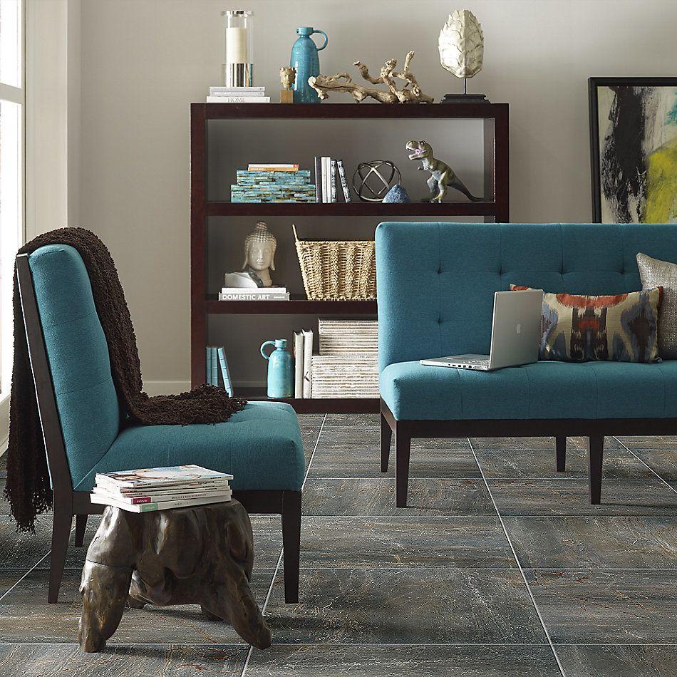 Shaw Floors Ceramic Solutions Trace 24×24 Matte Gunmetal 00500_320TS