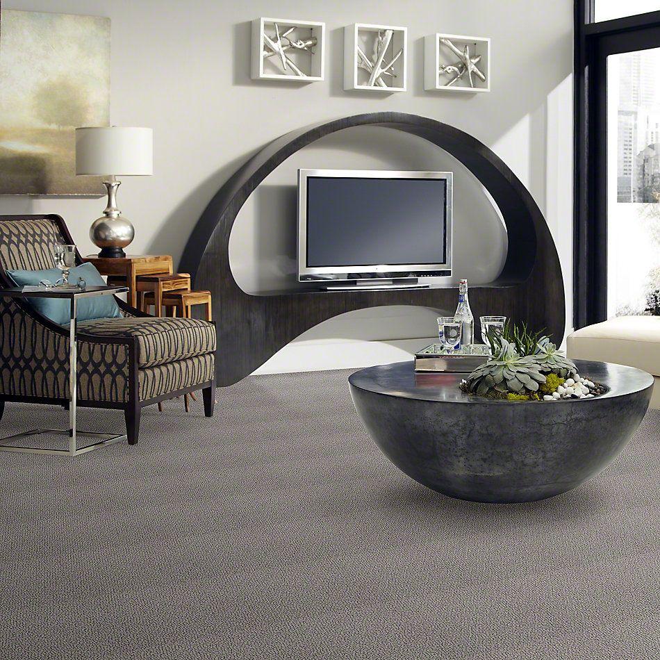Shaw Floors Shaw Flooring Gallery Supreme Comfort Loop Sheer Silver 00500_5469G
