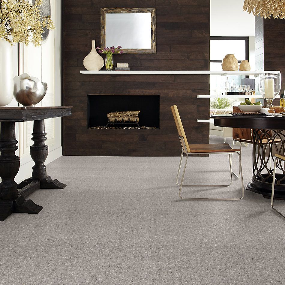 Shaw Floors Value Collections Chic Nuance Net Silver Lining 00500_5E362