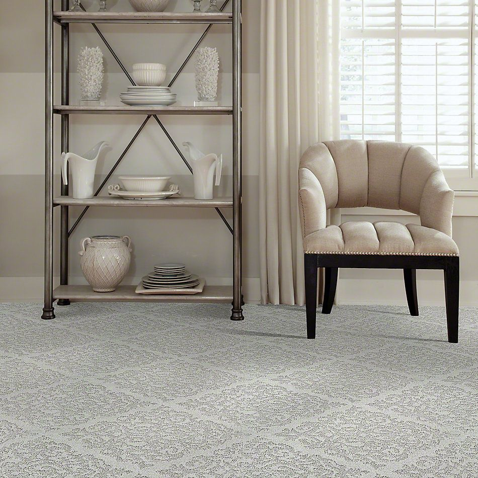 Shaw Floors Caress By Shaw Chateau Fare Glacier Ice 00500_CCS73