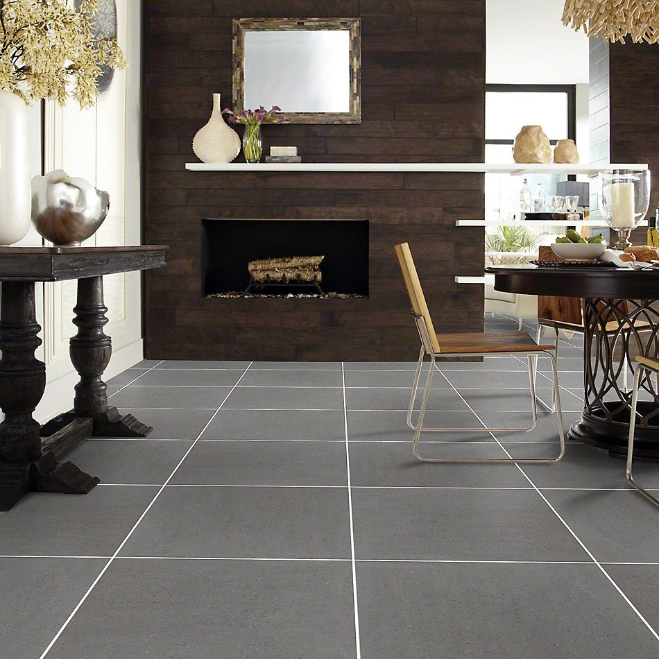 Shaw Floors Ceramic Solutions Architecture 24×24 Polished Carbon 00500_CS11M