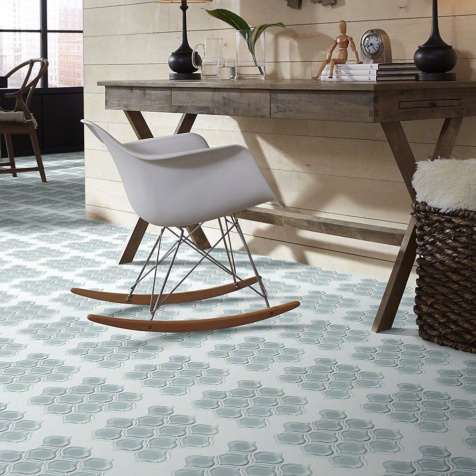 Shaw Floors Ceramic Solutions Cardinal Lantern Glass Mosaic Cloud 00500_CS17Z