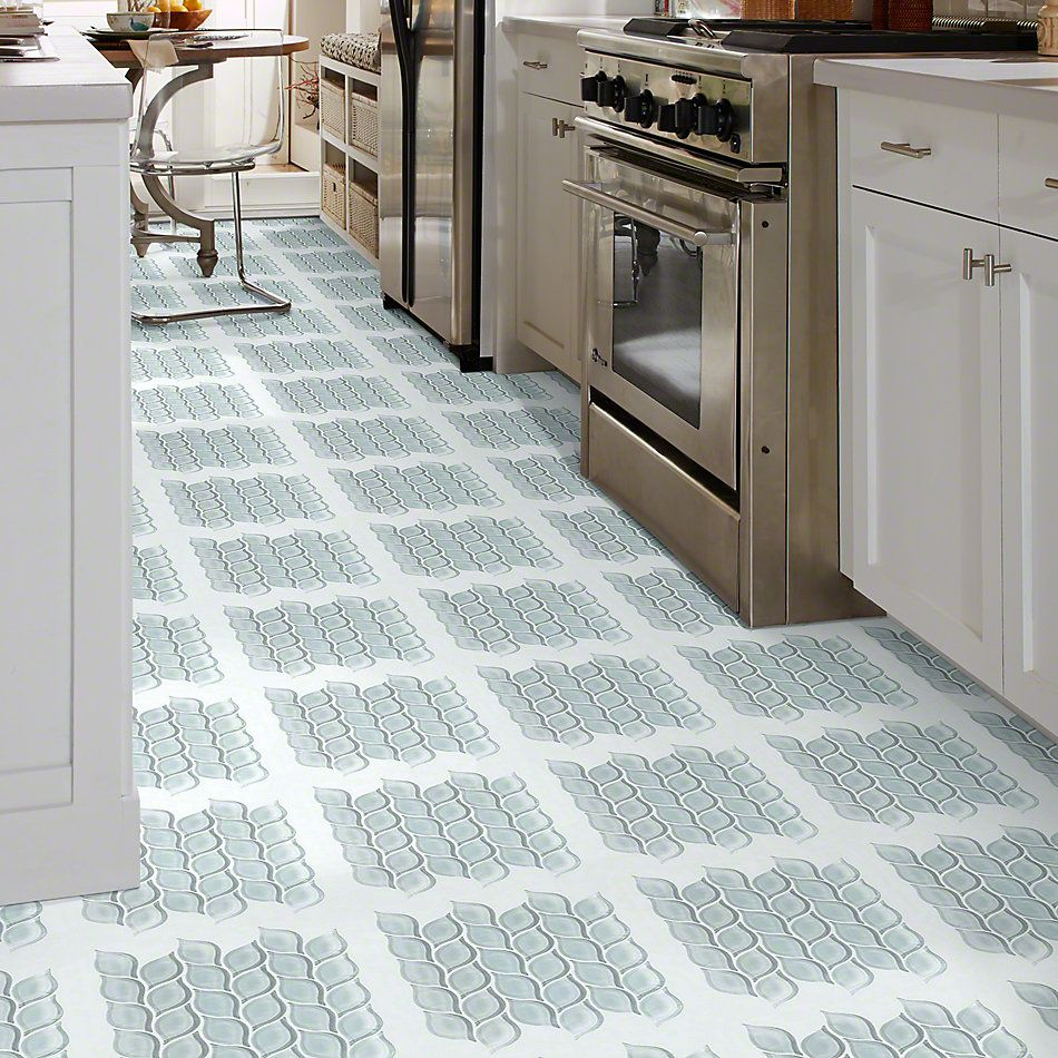 Shaw Floors Ceramic Solutions Cardinal Petal Glass Mosaic Cloud 00500_CS19Z