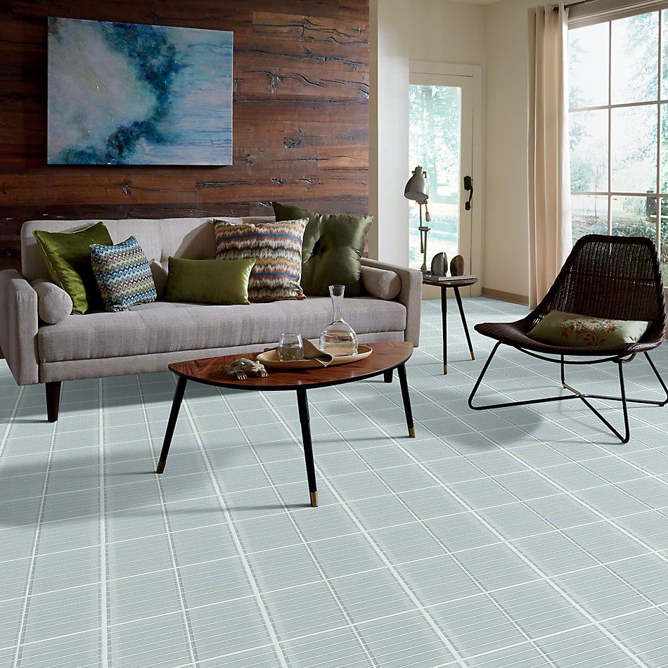 Shaw Floors Ceramic Solutions Cardinal Stacked Glass Mosaic Cloud 00500_CS20Z