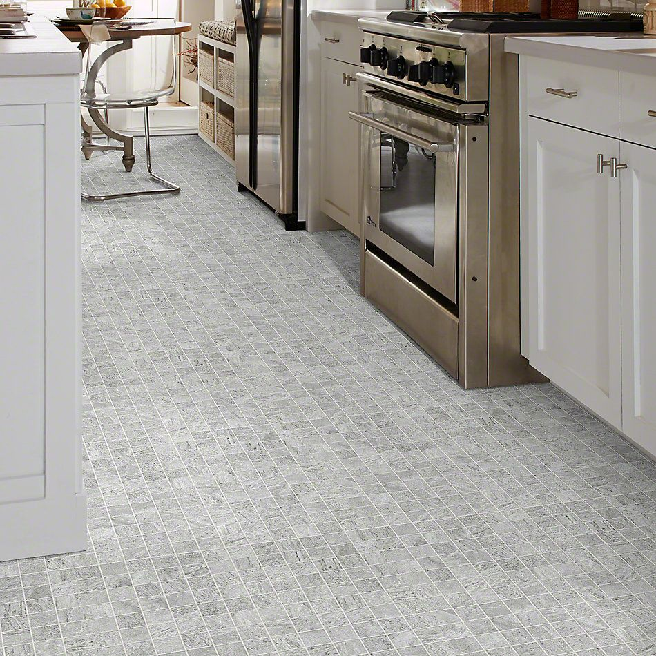 Shaw Floors Ceramic Solutions Crystal Mosaics Grey 00500_CS25W