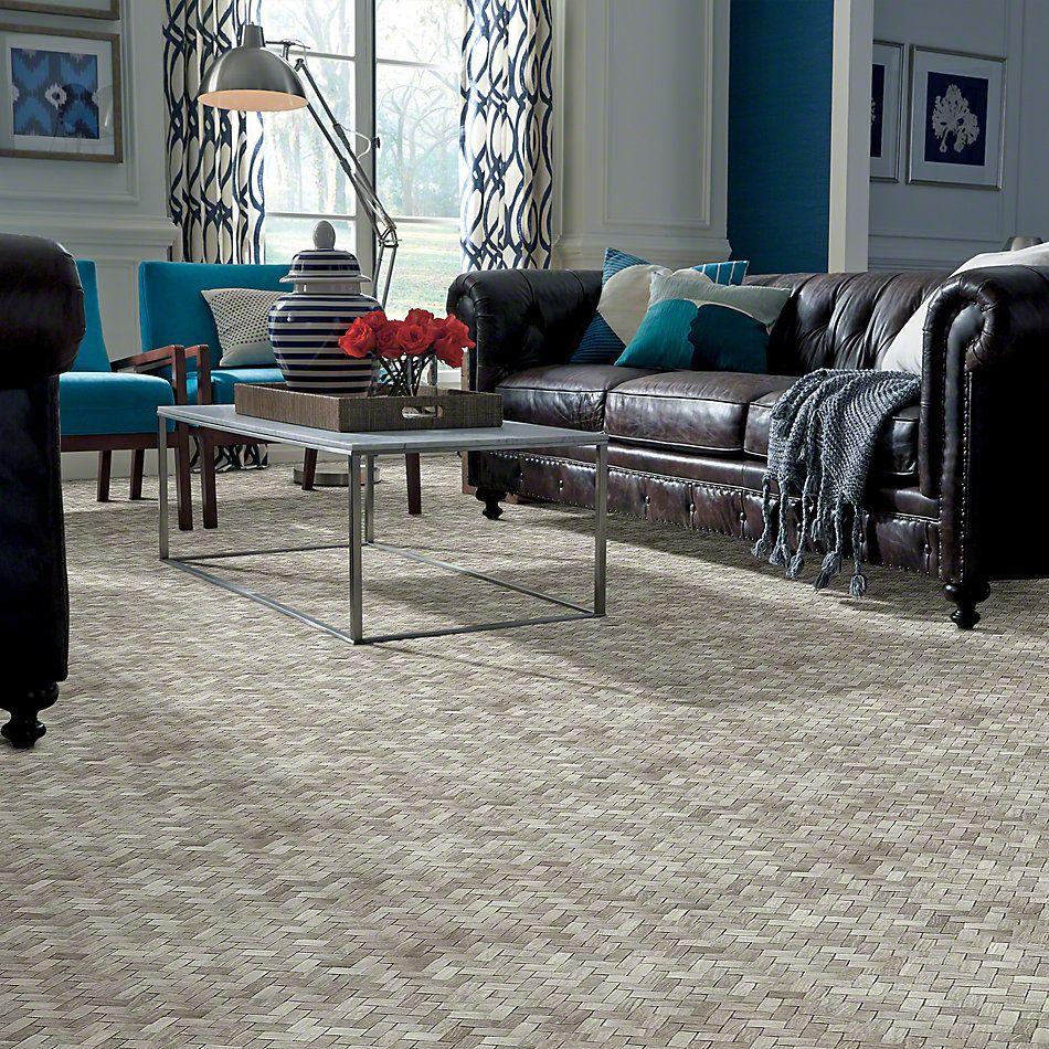 Shaw Floors Ceramic Solutions Chateau Woven Mosaic Rockwood 00500_CS25X