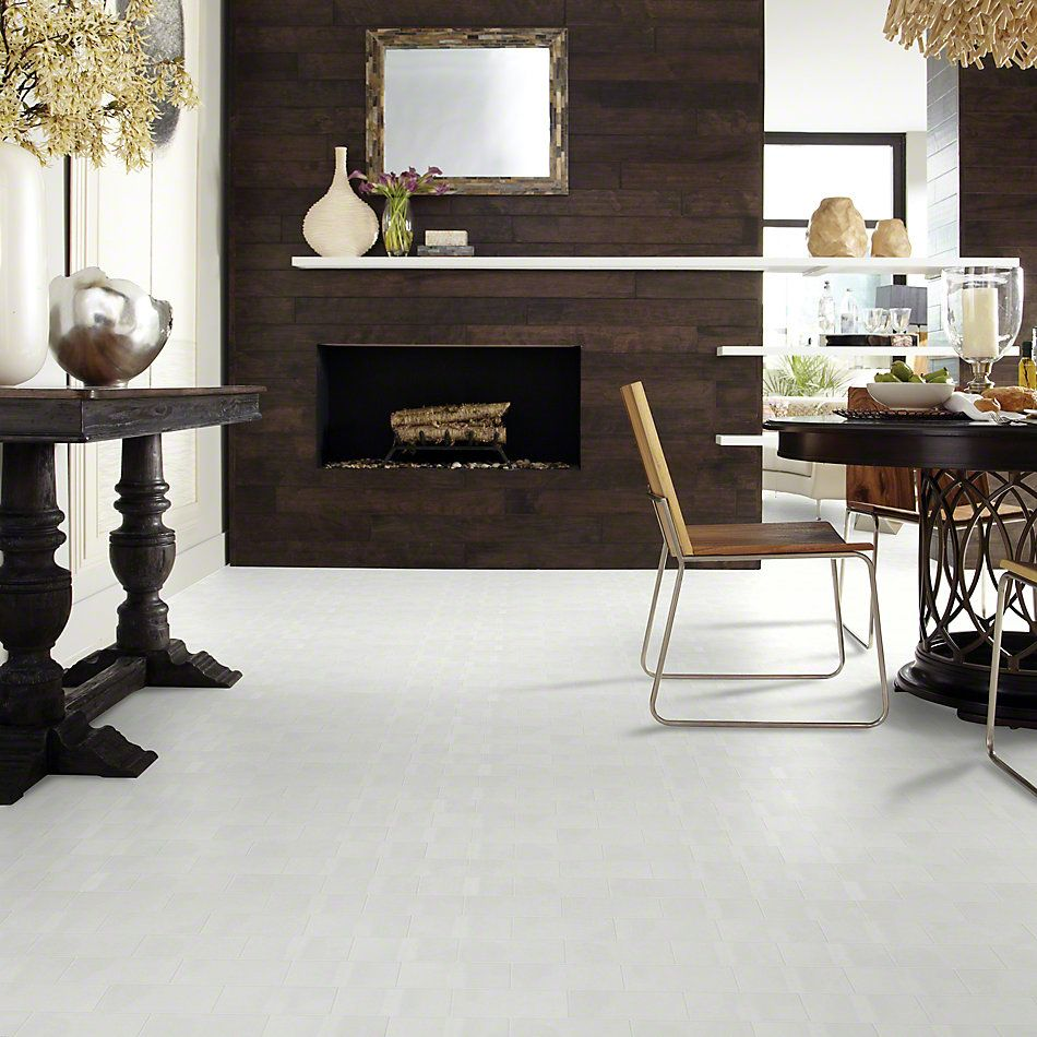 Shaw Floors Ceramic Solutions Elegance 3×6 Gloss Warm Grey 00500_CS34L