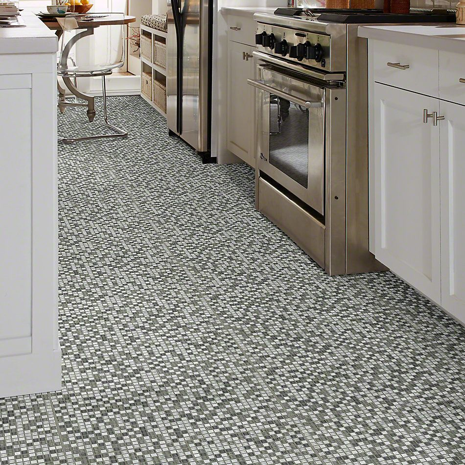 Shaw Floors Ceramic Solutions Awesome Mix 5/8's Mosaic Iceland 00500_CS36X