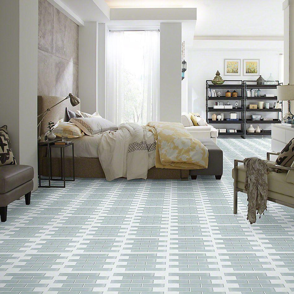 Shaw Floors Ceramic Solutions Cardinal Subway Glass Mosaic Cloud 00500_CS37Z