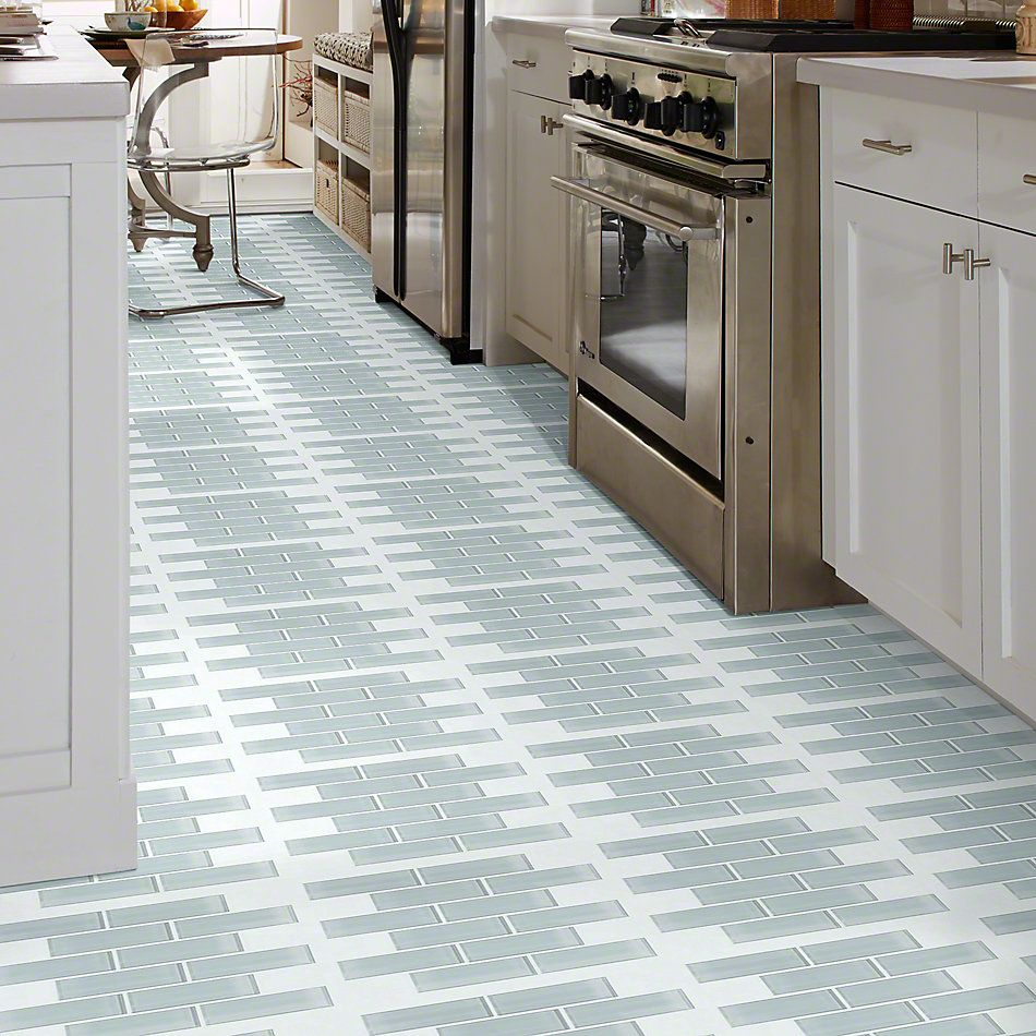Shaw Floors Ceramic Solutions Cardinal Subway Glass Mosaic Cloud 00500_CS37Z
