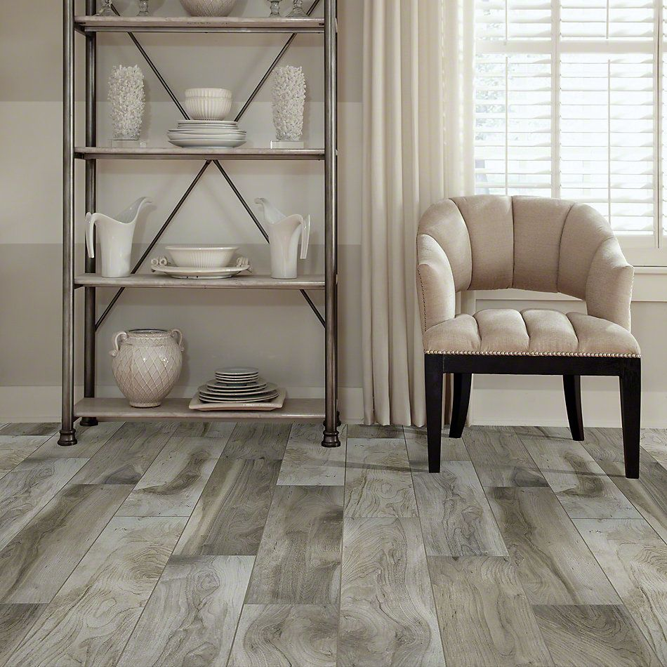 Shaw Floors Ceramic Solutions Heirloom 8 X 36 Sterling 00500_CS39Z