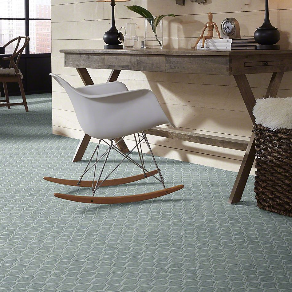 Shaw Floors Ceramic Solutions Geoscapes Diamond Light Grey 00500_CS51V