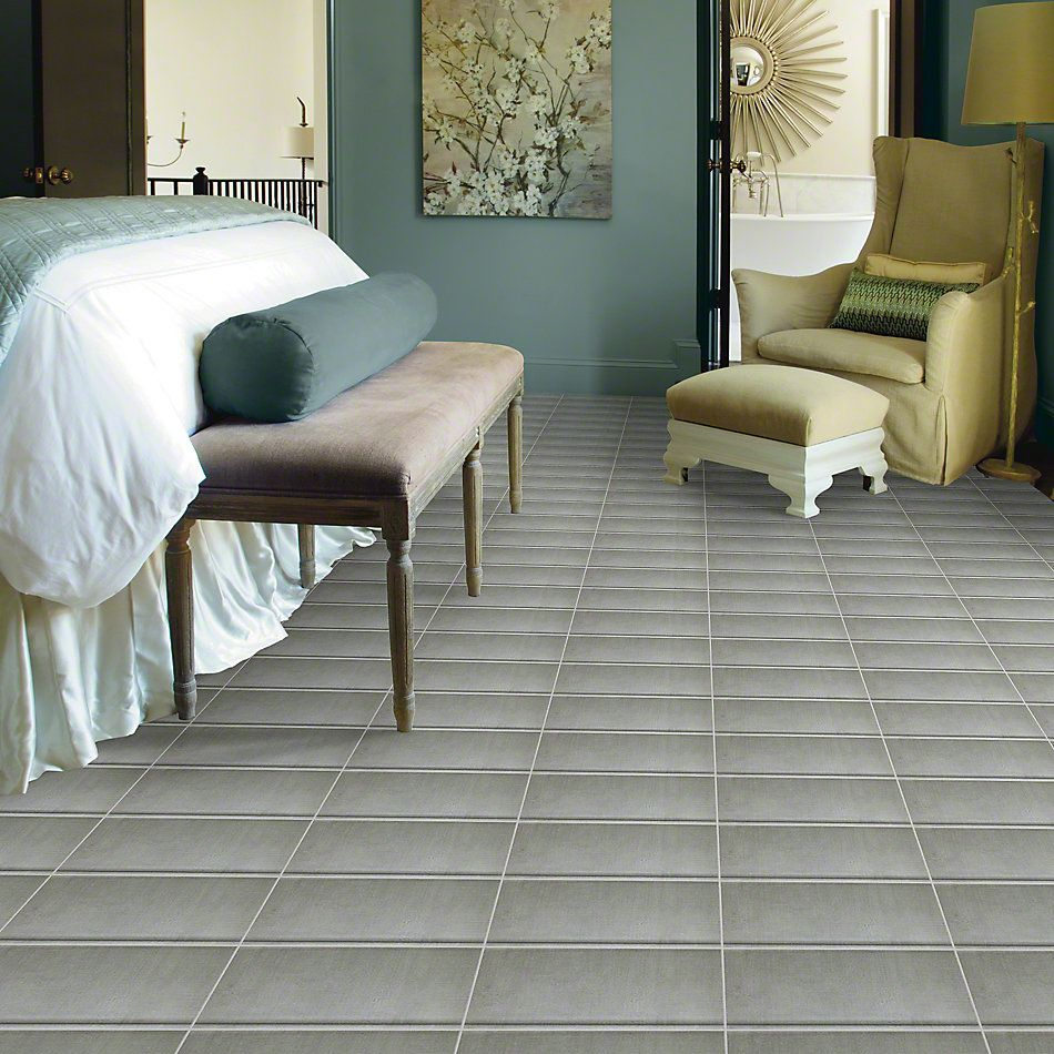 Shaw Floors Ceramic Solutions Tessuto Covebase Grigio 00500_CS72V