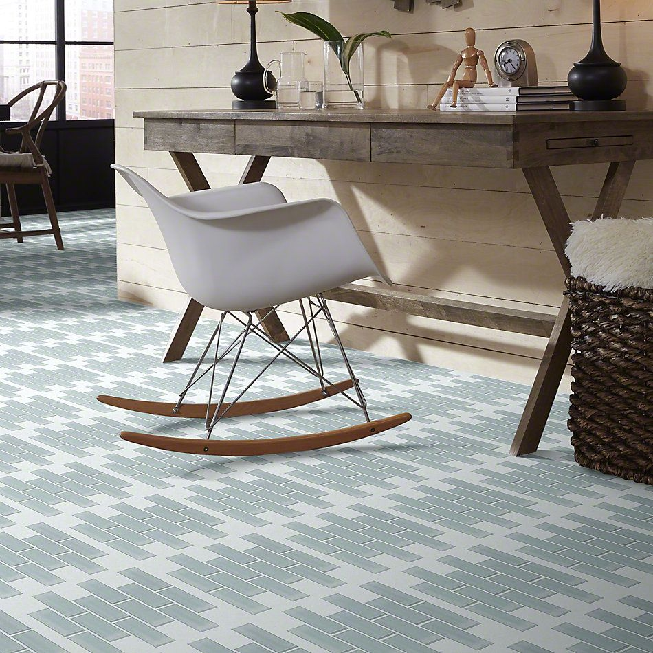 Shaw Floors SFA Paramount Subway Glass Mosaic Cloud 00500_SA12A