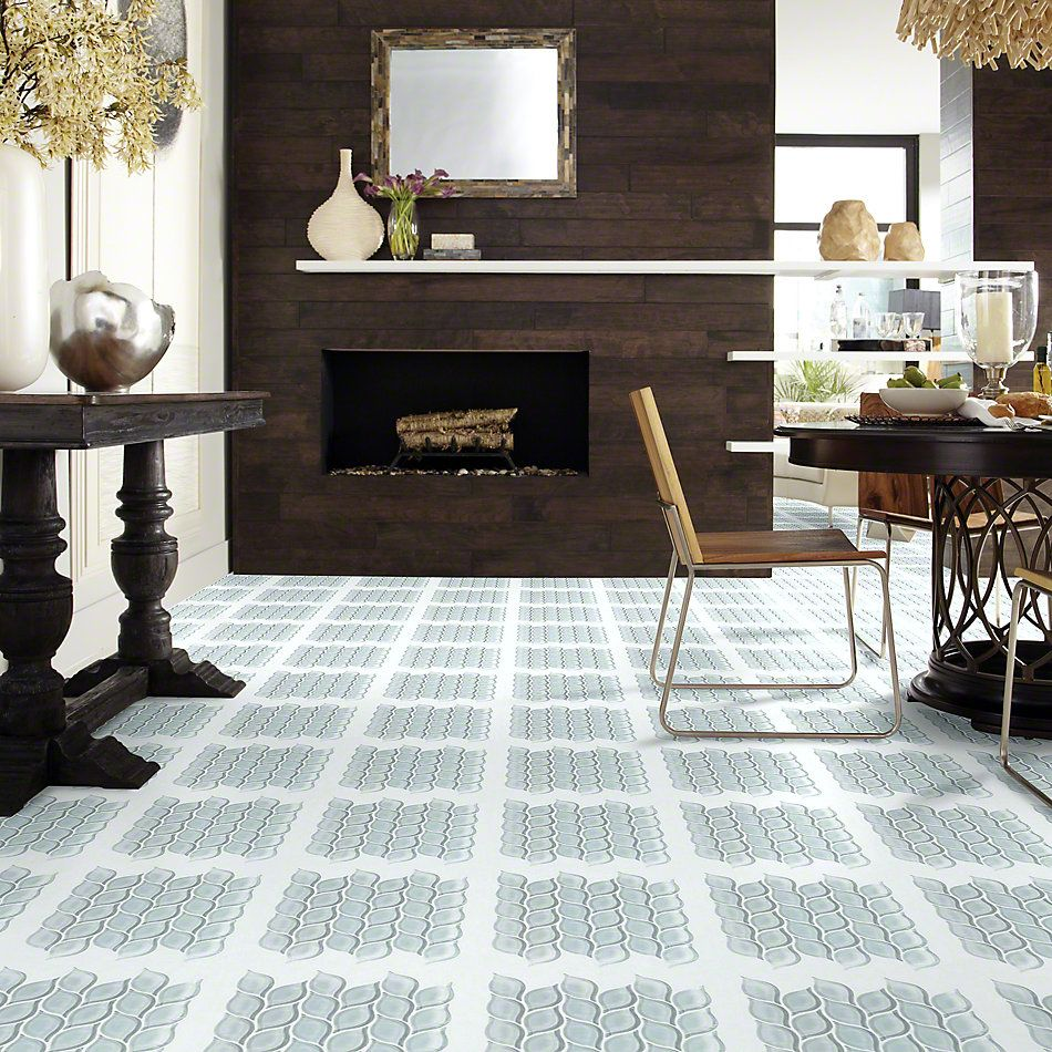 Shaw Floors SFA Paramount Petal Glass Mosaic Cloud 00500_SA17A