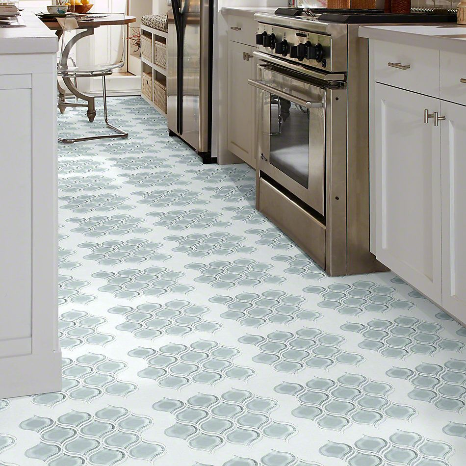 Shaw Floors SFA Paramount Lantern Glass Mosaic Cloud 00500_SA18A