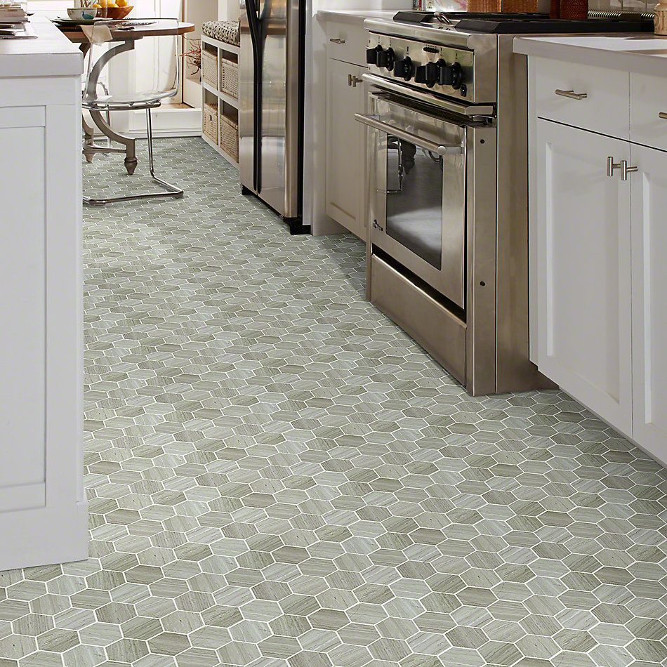 Shaw Floors SFA Pearl Mosaic Hex Rockwood 00500_SA33A