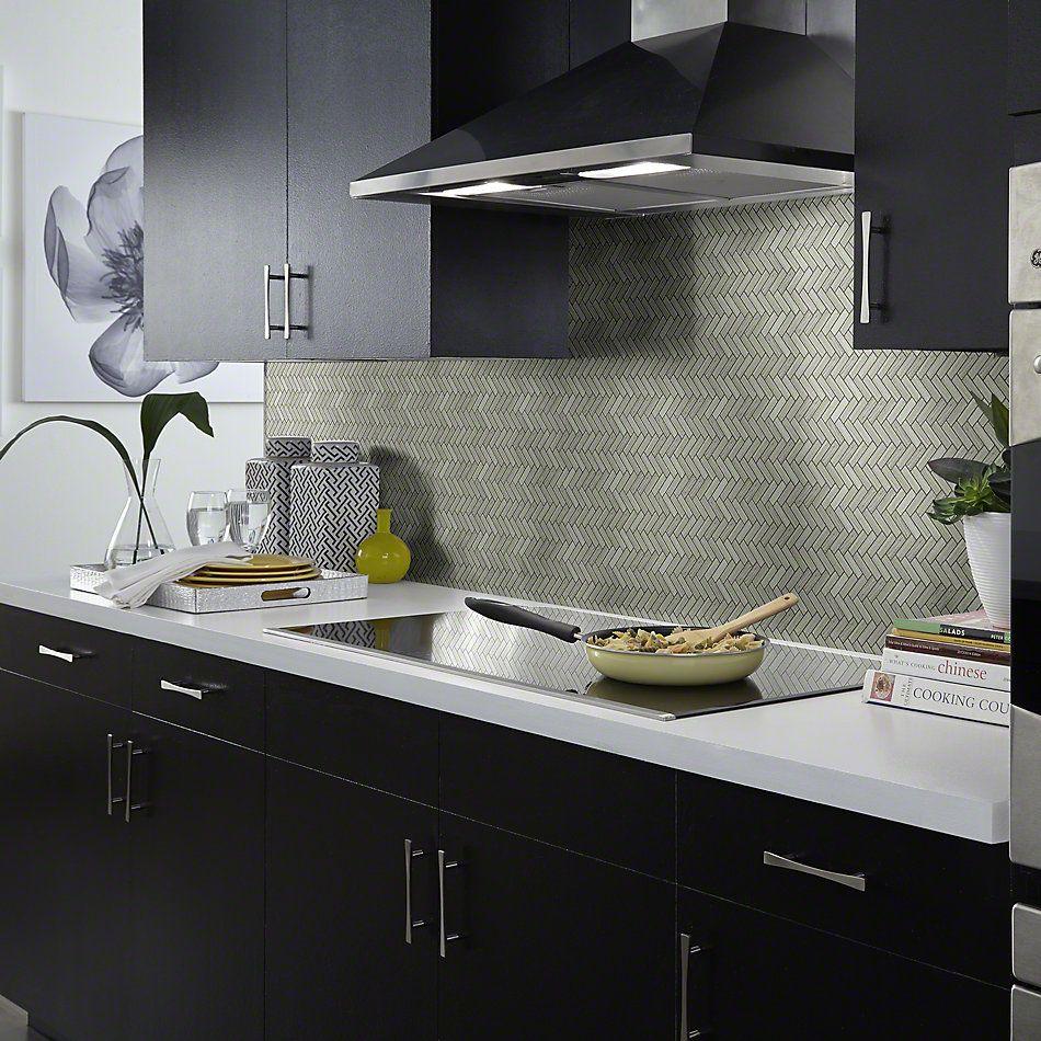 Shaw Floors SFA Pearl Herringbone Mosaic Rockwood 00500_SA34A