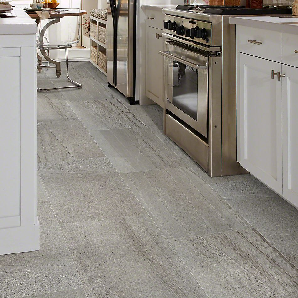 Shaw Floors Home Fn Gold Ceramic Pantheon 18×36 Pewter 00500_TG04A
