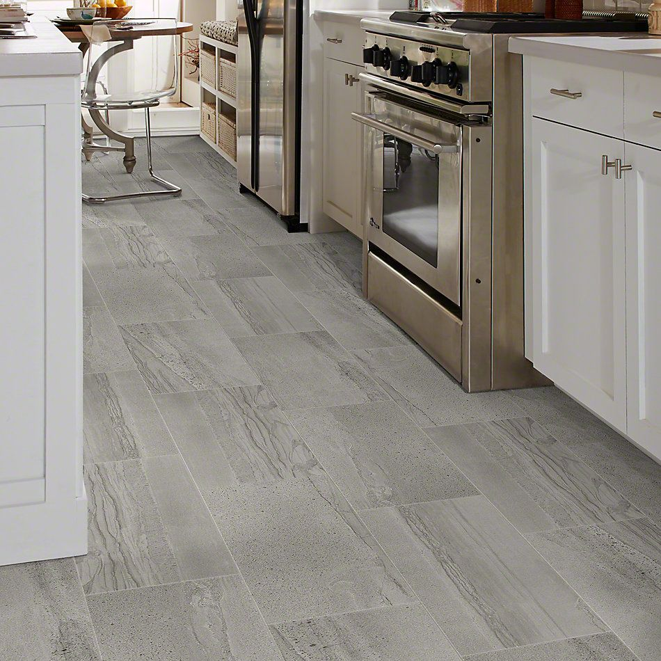 Shaw Floors Home Fn Gold Ceramic Pantheon12x24 Polished Pewter 00500_TG05A