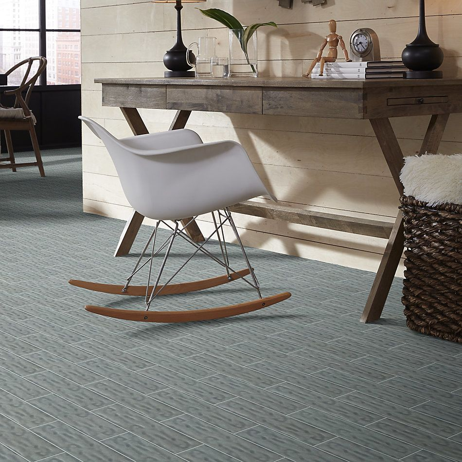 Shaw Floors Home Fn Gold Ceramic Geoscapes 4×16 Light Grey 00500_TG44C