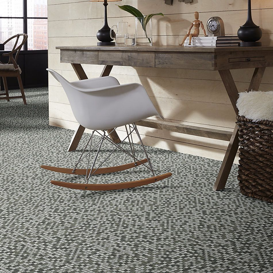 Shaw Floors Home Fn Gold Ceramic Awesome Mix 5/8 Mosaic' Iceland 00500_TG61B