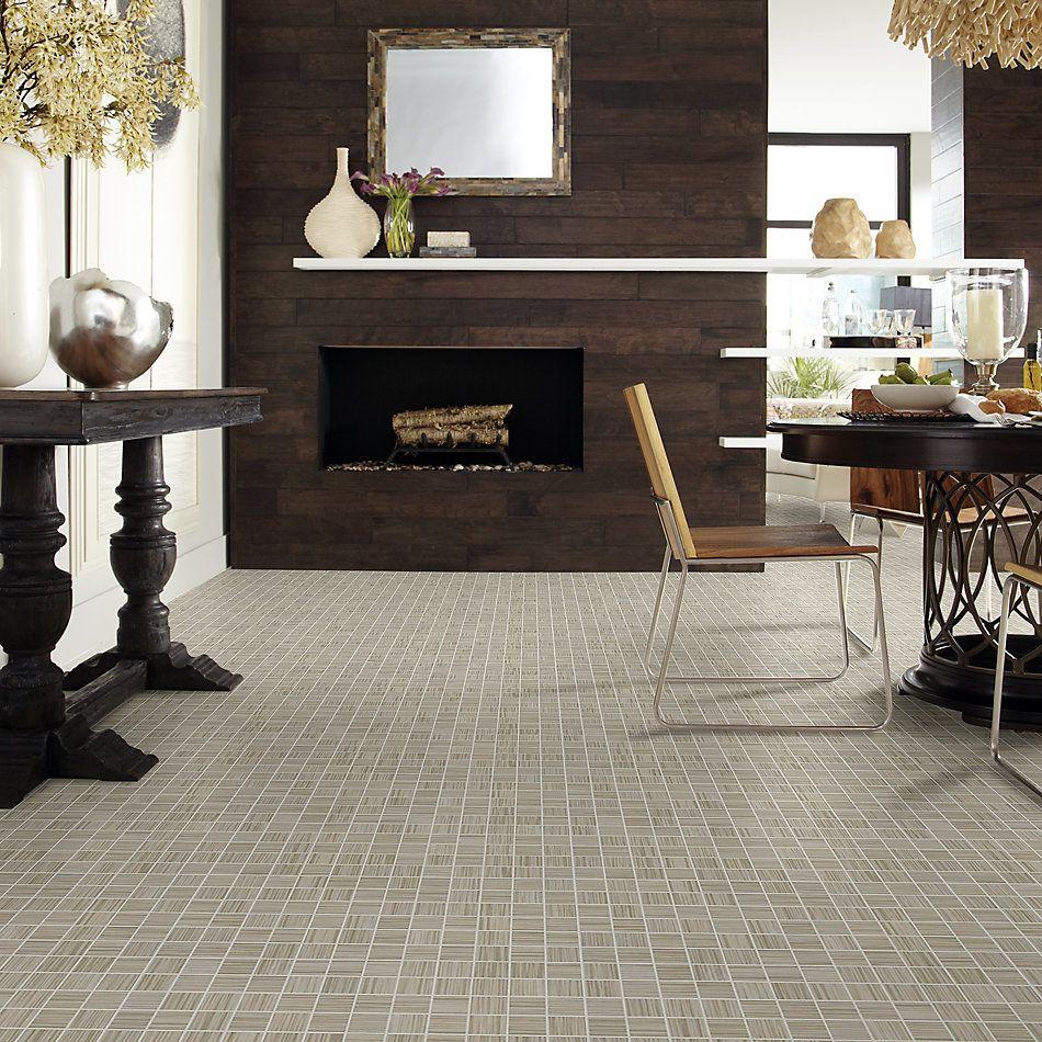 Shaw Floors Home Fn Gold Ceramic Parade Mosaic Twill 00500_TG69C