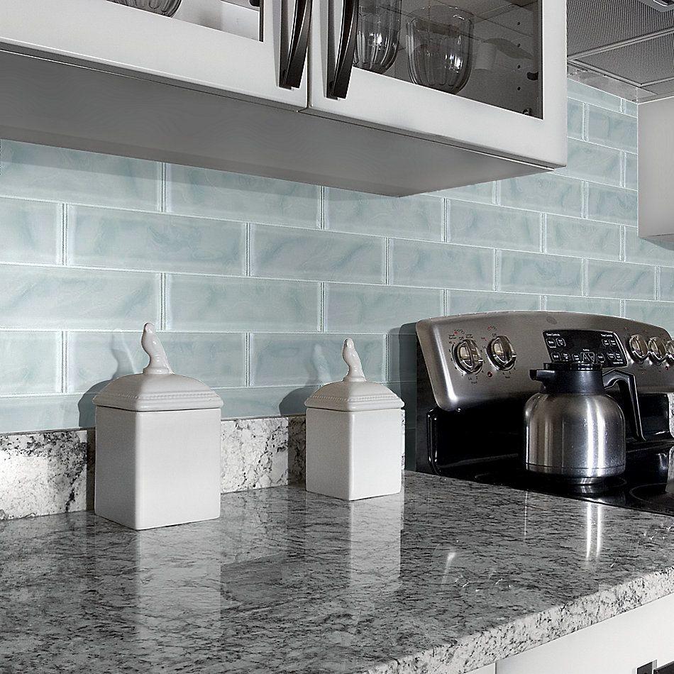 Shaw Floors Home Fn Gold Ceramic Principal 3×12 Artisan Glass Cloud 00500_TG73B