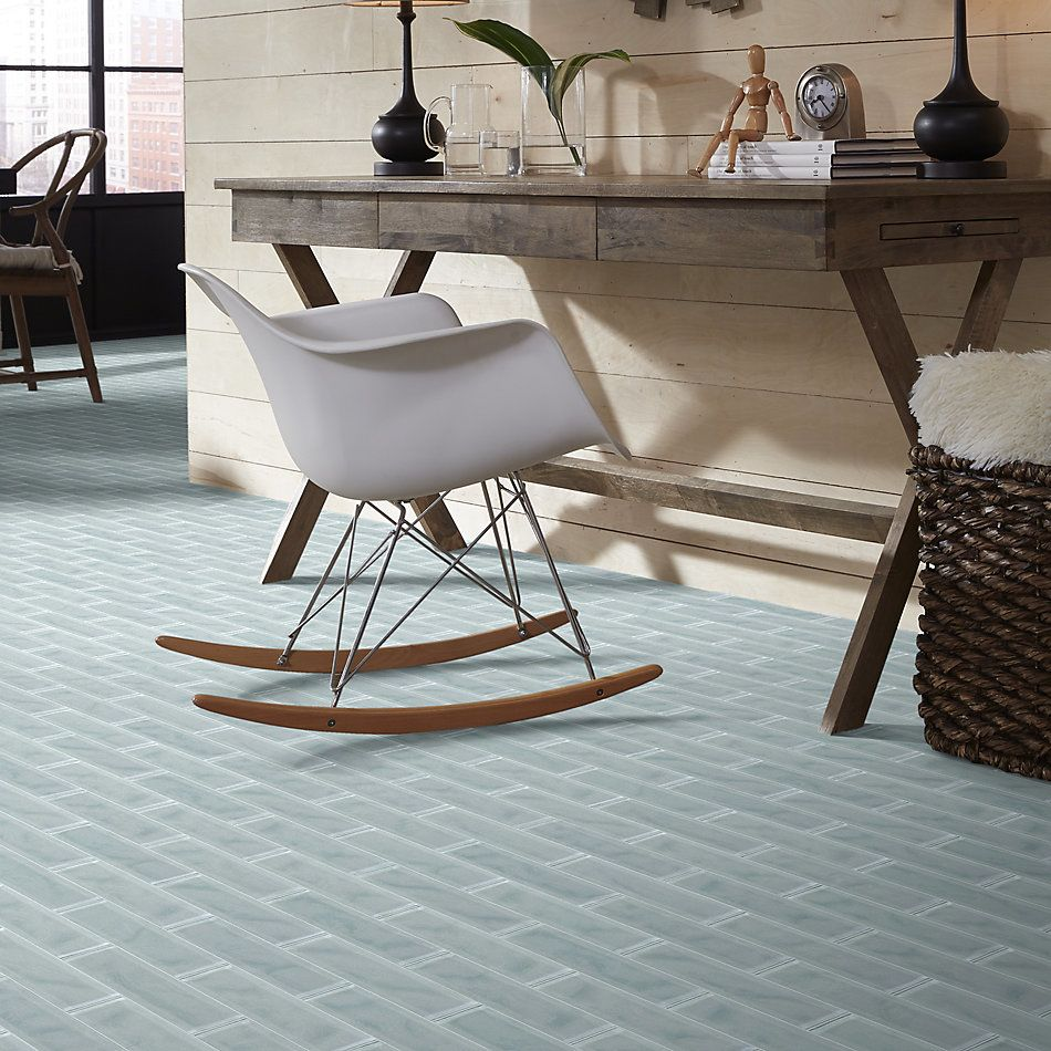 Shaw Floors Home Fn Gold Ceramic Principal 3×12 Artisan Glass Cloud 00500_TG73B