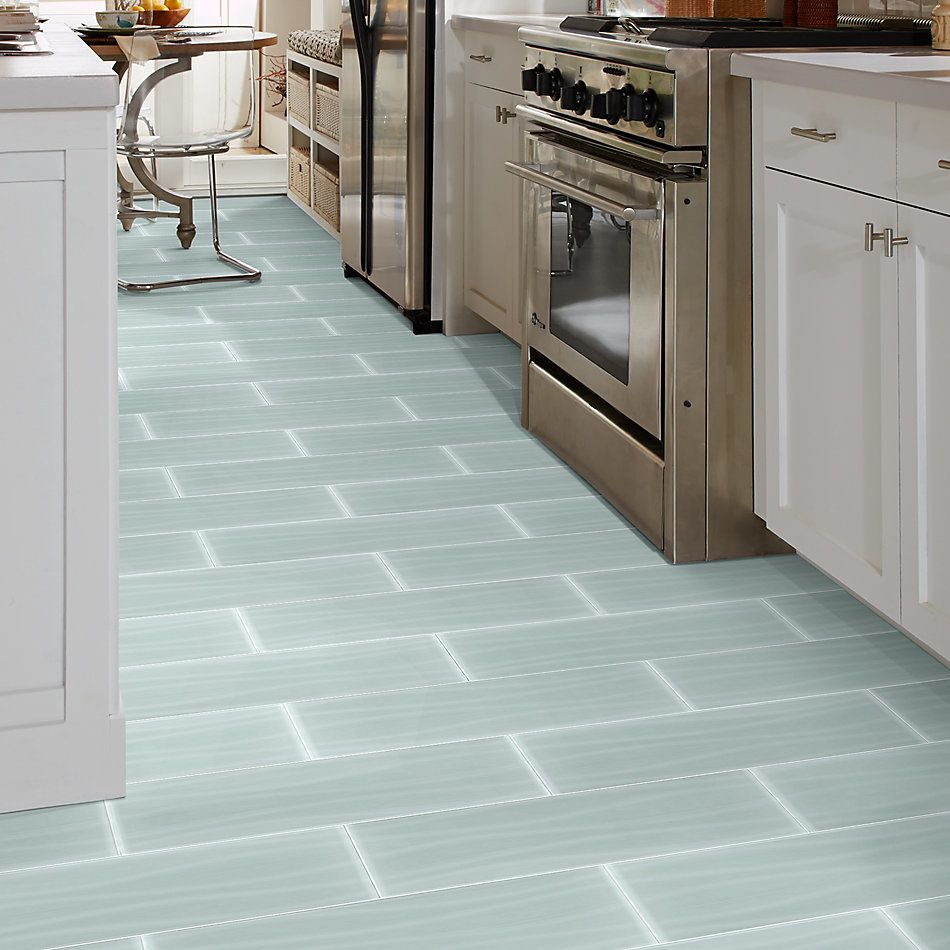 Shaw Floors Home Fn Gold Ceramic Principal 8×24 Wave Glass Tile Cloud 00500_TG77B