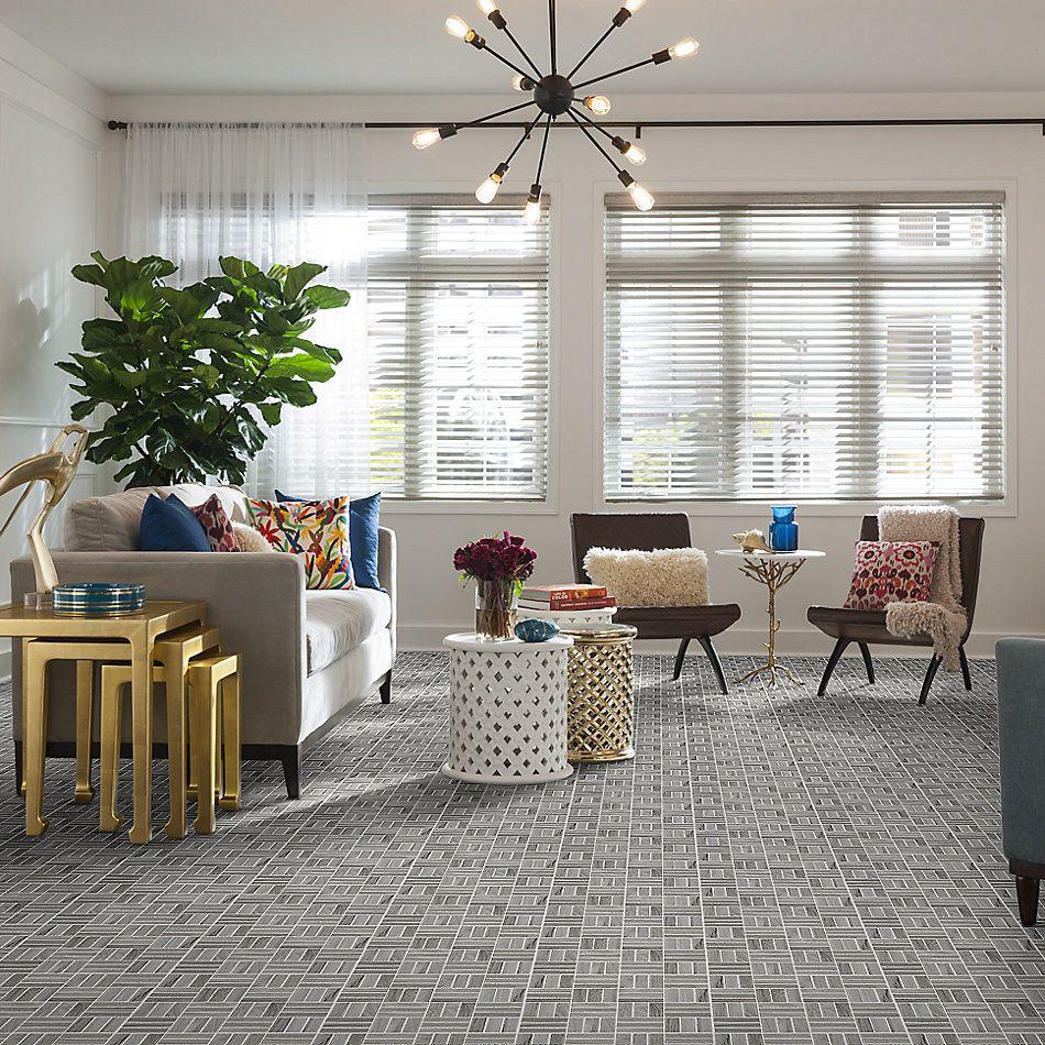 Shaw Floors Home Fn Gold Ceramic Traveler Mosaic Grey 00500_TGJ70