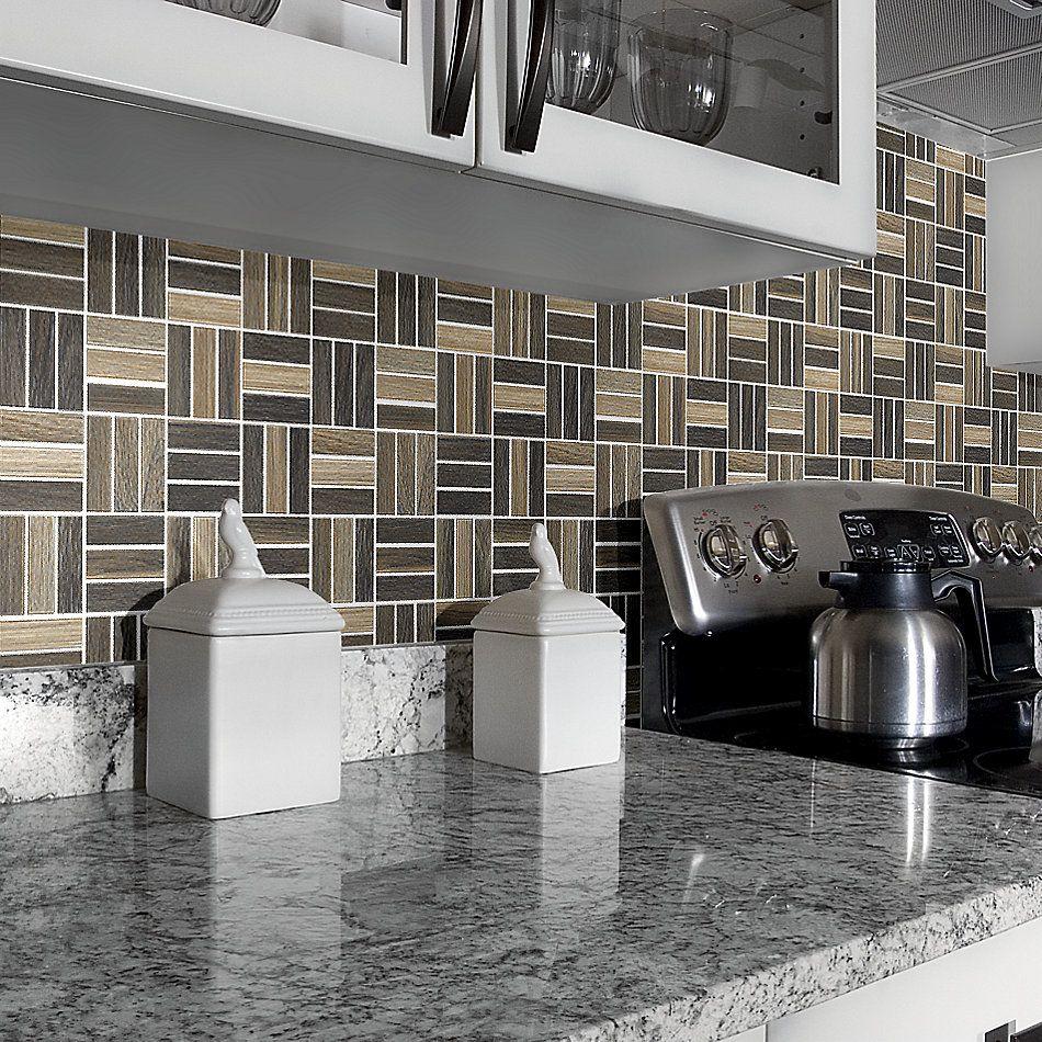 Shaw Floors Home Fn Gold Ceramic Revolution Mosaic Tobacco 00500_TGJ71