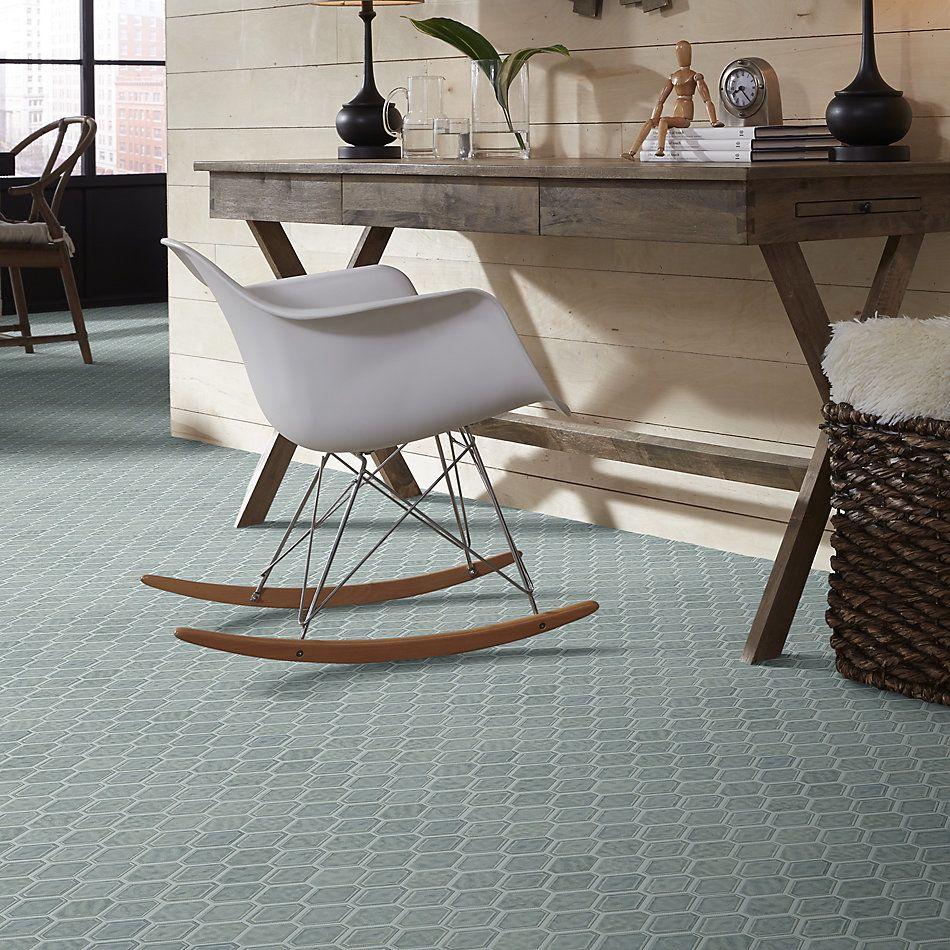 Shaw Floors Home Fn Gold Ceramic Geoscapes Diamond Light Grey 00500_TGJ79