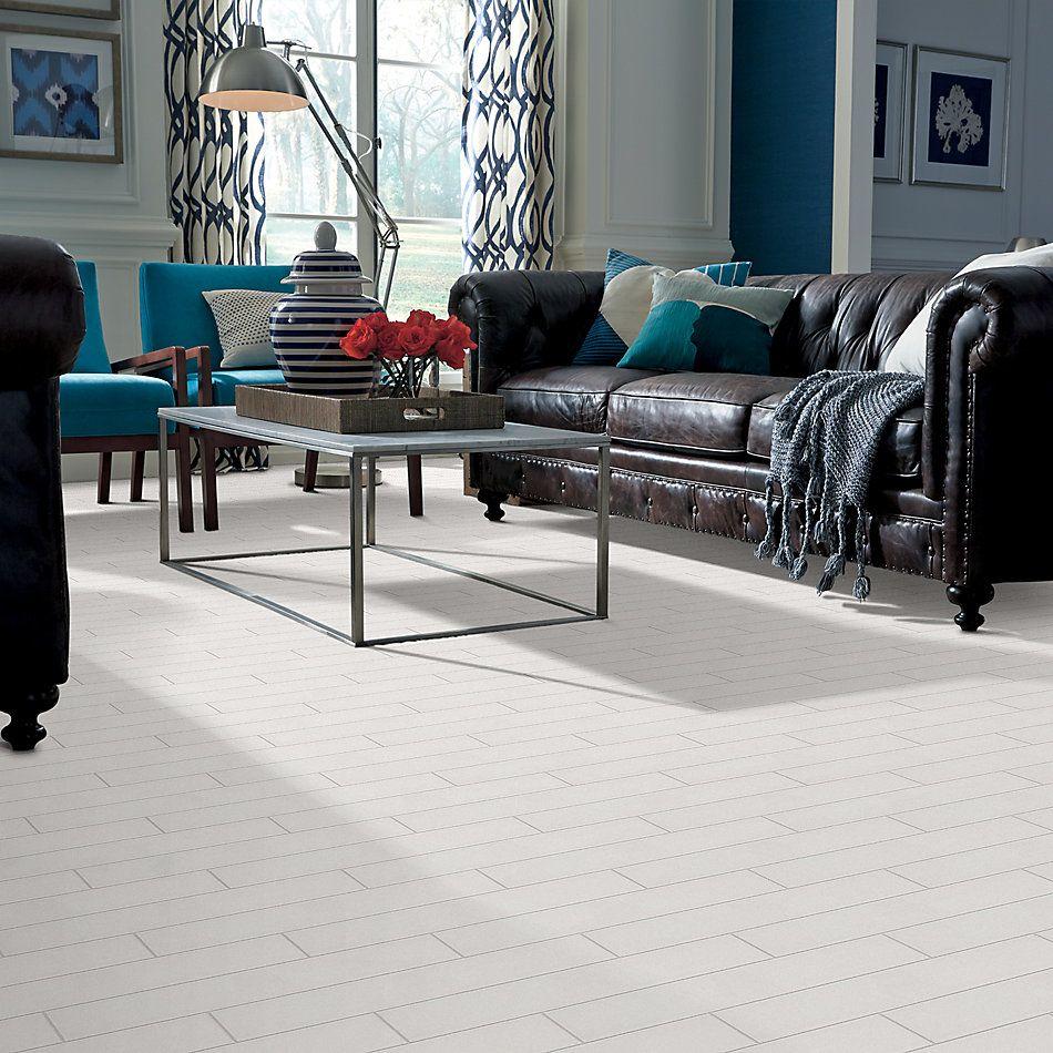 Shaw Floors Home Fn Gold Ceramic Baker Street 4×16 Gloss Warm Grey 00500_TGL84