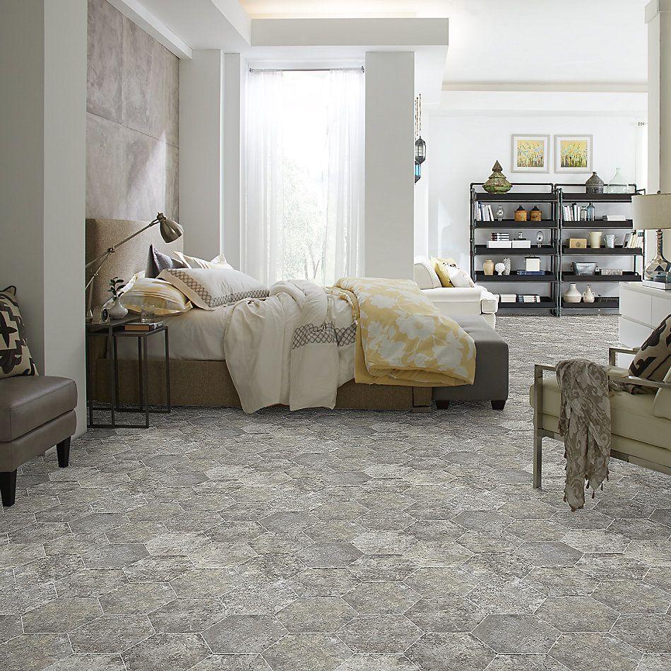 Shaw Floors Home Fn Gold Ceramic Golden Gate Hexagon Lombard 00500_TGN06
