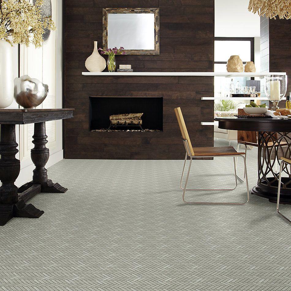 Shaw Floors Home Fn Gold Ceramic Estate Herringbone Mosaic Rockwood 00500_TGN88