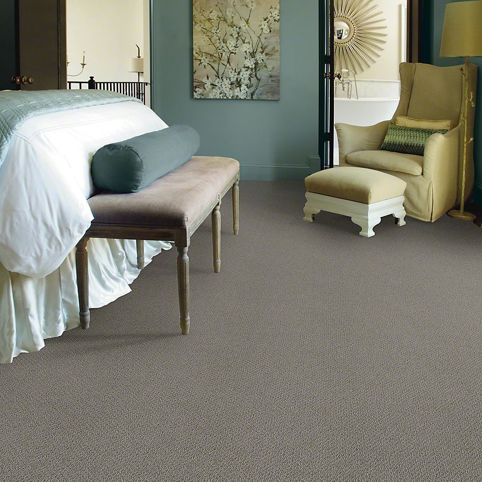 Shaw Floors Truly Relaxed Loop Grey Flannel 00501_E0657
