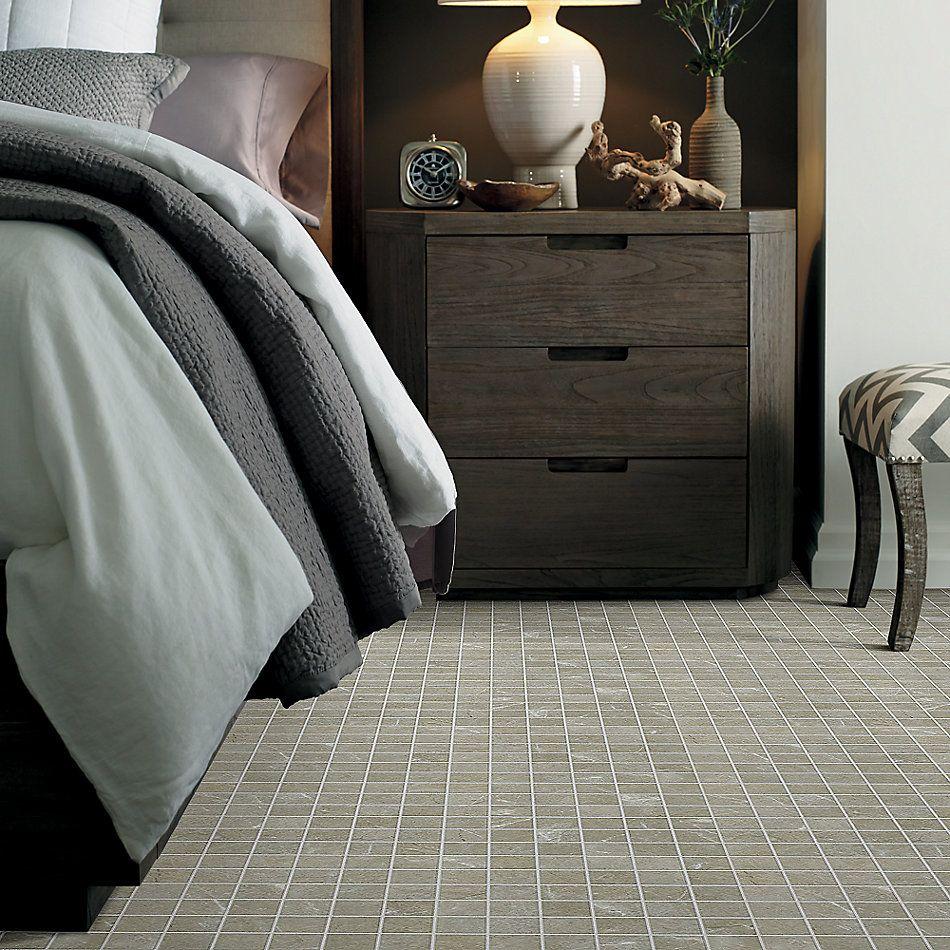 Shaw Floors Home Fn Gold Ceramic Illusion Mosaic 2×2 Oasis 00501_TG66B