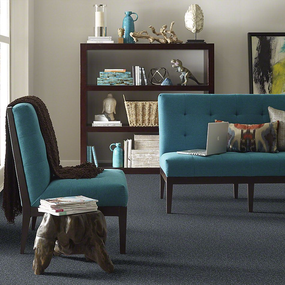 Shaw Floors Shaw Flooring Gallery Why Not Me Steele Blue 00502_5581G