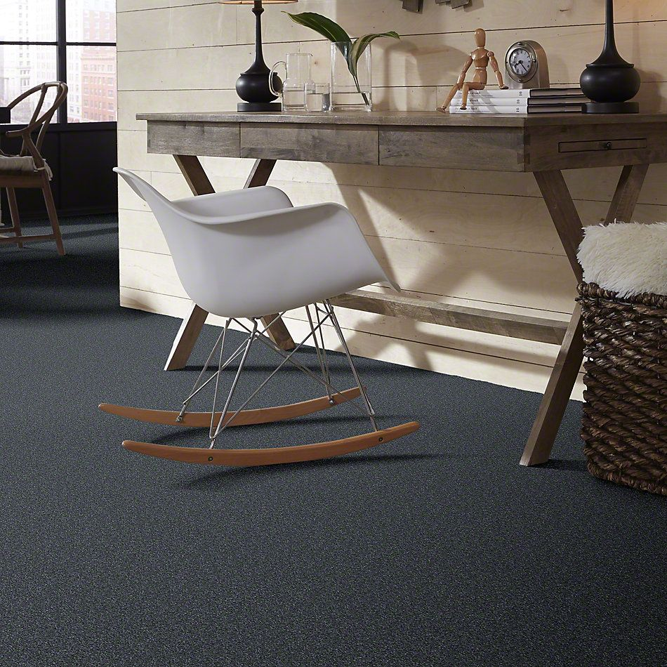 Shaw Floors Value Collections Something Sweet Net Steele Blue 00502_E0924