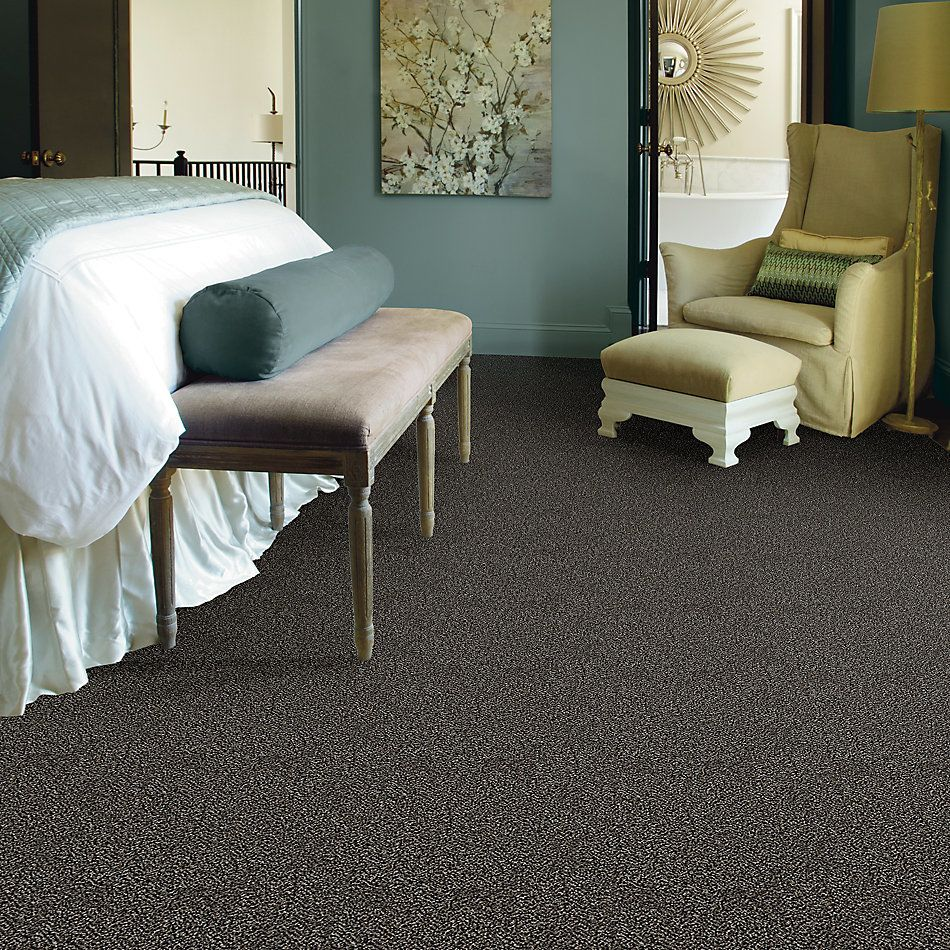Shaw Floors Value Collections Breathe & Reflect Net Black Granite 00503_EA720
