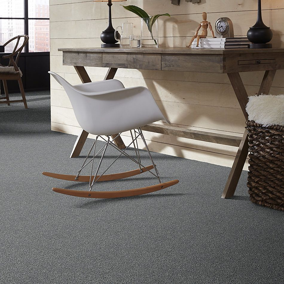 Shaw Floors Value Collections Within Reach III Net Grey Fox 00504_5E337